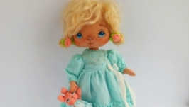 valentine′s day gift Textile doll Interior doll Sweet doll Romantic gift