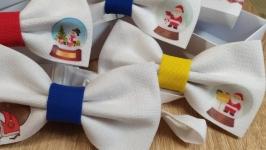 Бабочка галстук новый год