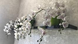 Цветы ручной работы. Орхидея. Декор.