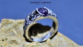 Авторское серебряное кольцо Силуэт