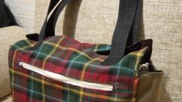 Хозяйственная сумка из ткани