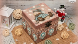 Шкатулка ′ Казковий сніговик′