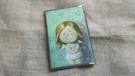 Обложка на паспорт Е.Гапчинская ′Я вся в конопушках, а он любит меня′