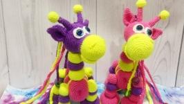 Жираф Лошарик, розвиваюча іграшка