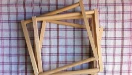 Рамки с застежками Монтессори - деревянная основа