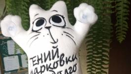 Кот Саймона для авто на присосках