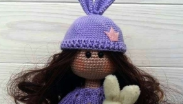Кукла текстильная интерьерная Тильда