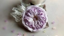 Заколка для волос, заколка с цветами из фоамирана, украшение для волос
