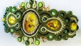 Браслет из коллекции ′Зеленый чай′
