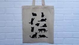 Еко сумка з котами