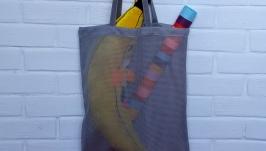 Еко сумка з сітки