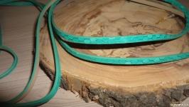 Шнур бирюзовый Чешуя змеи