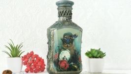 Бутылка подарочная  ′Мистер Сова′