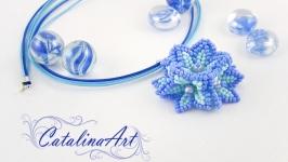 Кулон ′Нежный цветок′