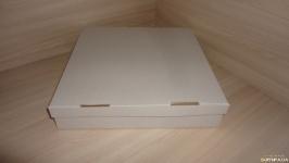 Коробка для мобиля, 30*30*6 см, белая