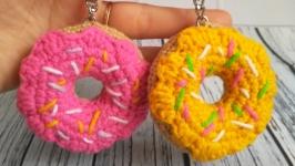 Брелок Пончик, подвеска