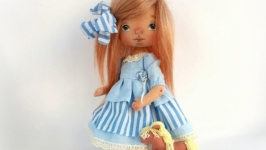 valentine′s day gift Textile doll Interior doll Cute doll Holiday gift