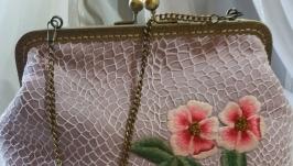 Handbag-Openwork (handmade)