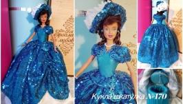 Скарбничка  №170 кукла шкатулка подарок для прикрас или купюрница