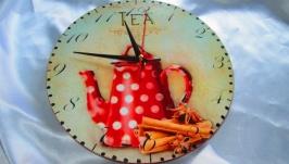 Настенные часы ′Приятное чаепитие′