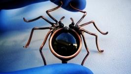 Павук -Брошка
