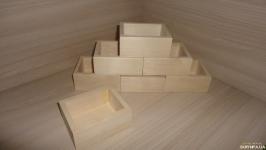 Коробочка деревянная 9х7 см