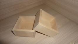 Коробочка деревянная 8х8 см