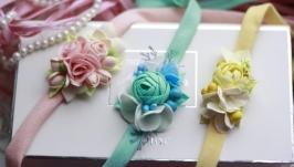 Цветочные повязки для малышей