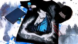 Мужская футболка ′Midnight Wolf′
