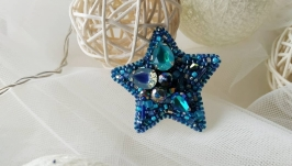 Брошка Небесна зірка