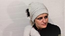 шапка-шарф-комір трансформер і мітенки