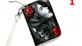 Женский кошелёк на молнииотделение для телефона ′