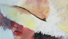 Картина ′Солнечный день′, холст, масло, мастехин, размер 50х60 см