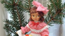 елочная игрушка кукла ′Христос Воскресе!′