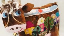 Коровка интерьерная