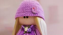 Кукла Тильда с сердцем