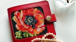 Жіночий гаманець, червоний гаманець
