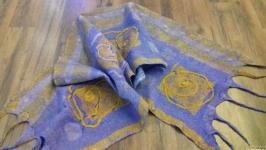 Оригинальный шарф из шерсти мериноса.