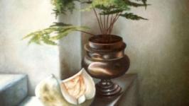 Натюрморт с тыквой