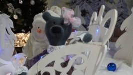 Шерстяной медведь. Мишка  - принцесса