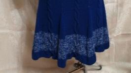 Спідниця синього кольору - 68 см