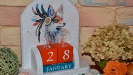 ′Лиса-шаманка′- Вечный календарь