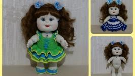 Мастер класс по вязанию куклы спицами