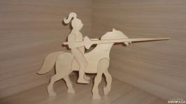 Всадник на коне