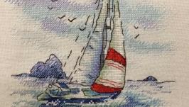 картина  Морская регата