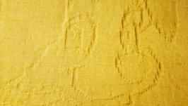 Детский плед ′Веселый Песик′ , вязаный плед, плед для новорожденного