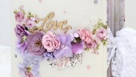 Альбом история любви , свадебный альбом , подарок на 14 февраля