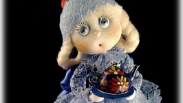 Кукла ′Фея кухни′ (Беляночка)