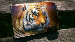 Шкіряне портмоне ′Тигр′