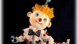 Клоун Дениска и крыска Лариска